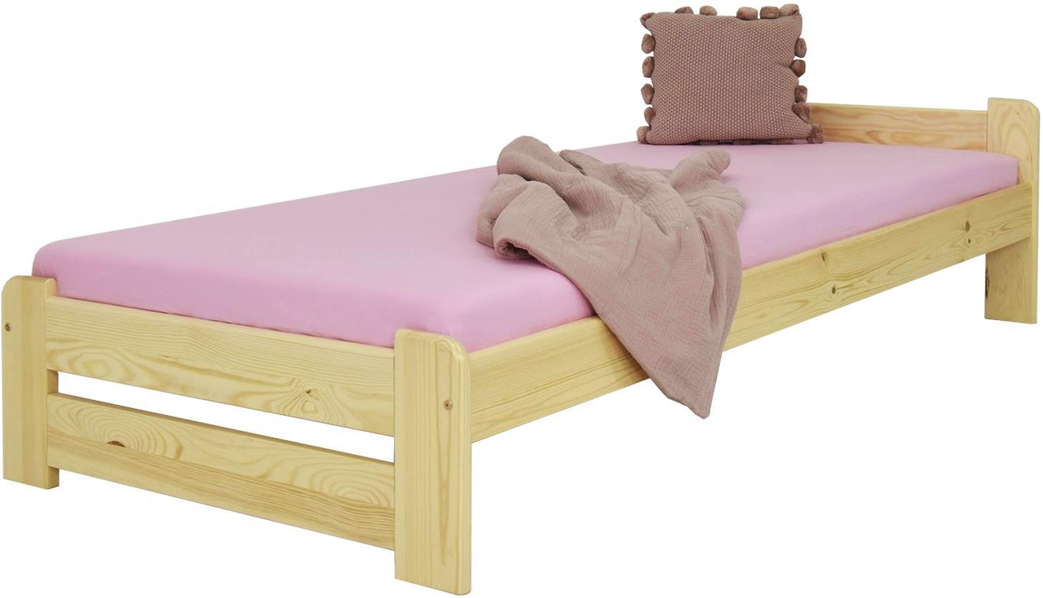 MD Jednolôžková posteľ Charlie 90x200 - borovica