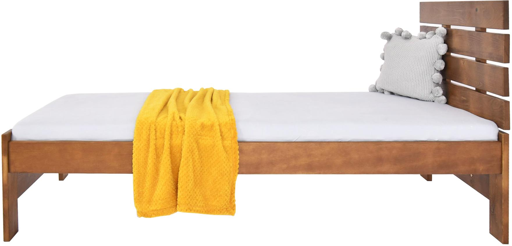 MD Jednolôžková posteľ Lula 90x200 - dub