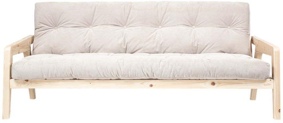 Menčestrová variabilná pohovka Karup Design Grab Raw Natural