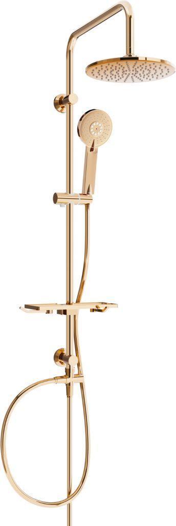 MEXEN/S MEXEN/S - T40 sprchový set ružové zlato 798404093-60