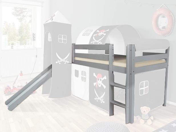 MG Vyvýšená detská posteľ SORO 90x200