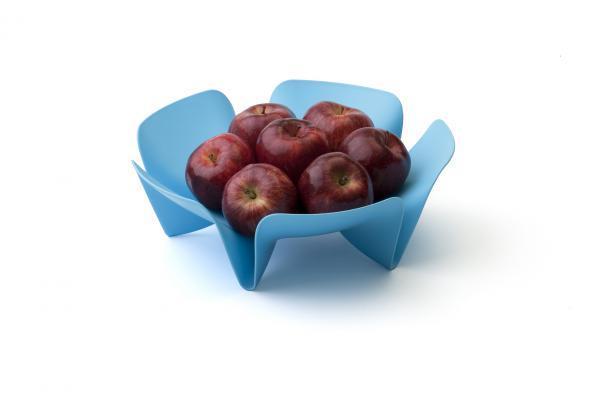 Misa na ovocie Qualy Flower Fruit Tray, malá, modrá