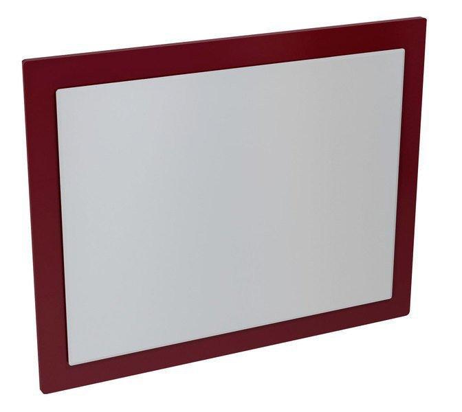 Mitra MT193 zrkadlo v ráme 72x52x4 cm, bordó