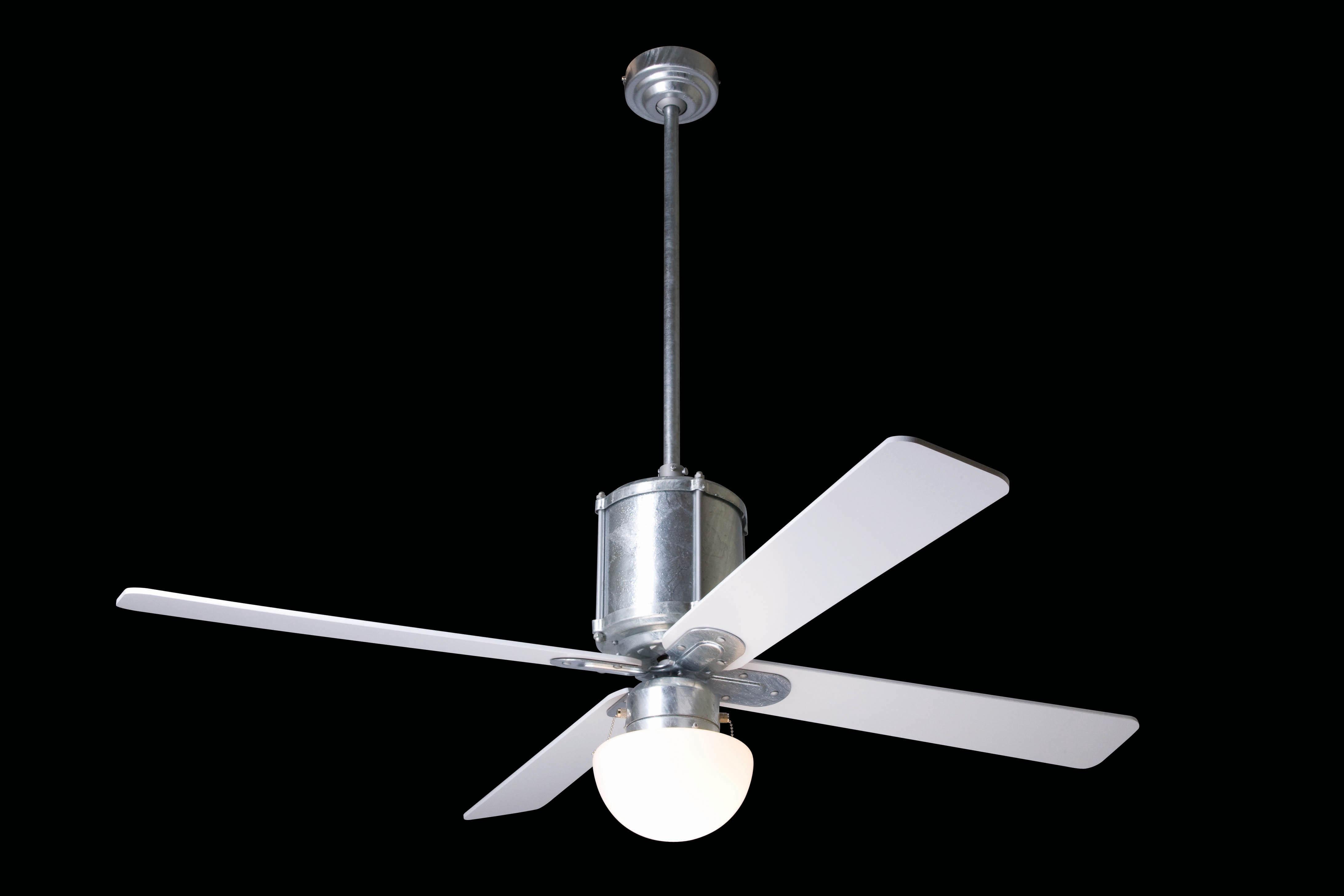 "MODERN FAN EU INDUSTRY IND-GV42MG952 42"" galvanizovaný/mahagón Reverzný stropný ventilátor"