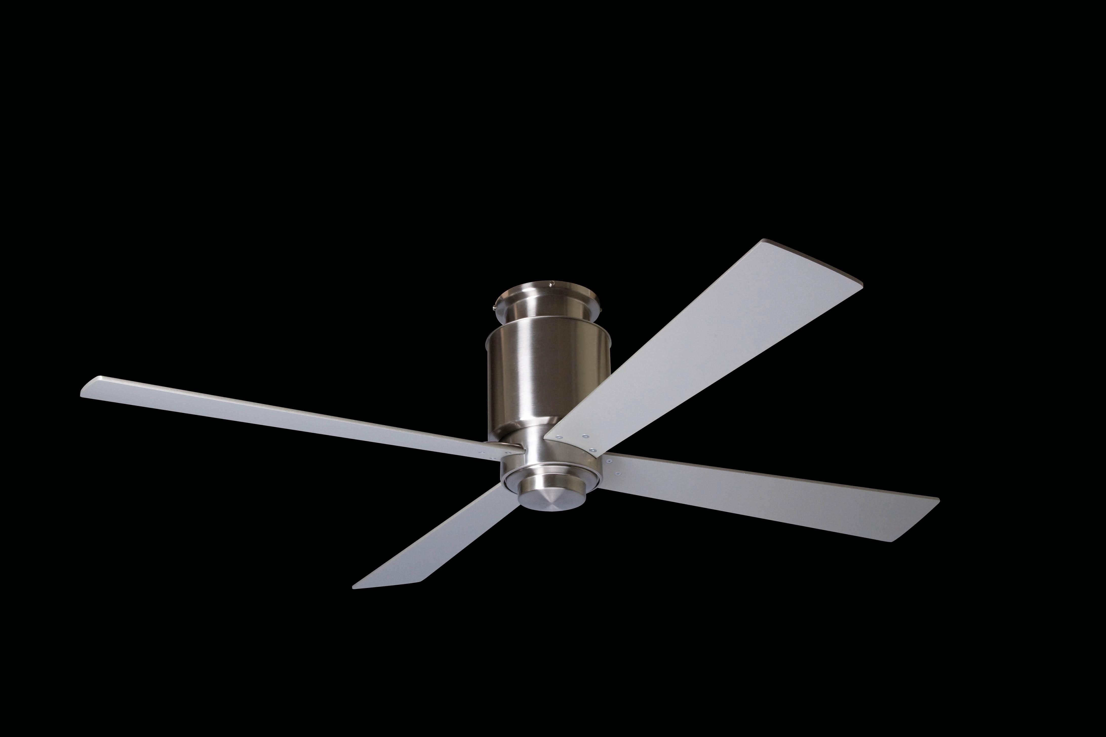 "MODERN FAN EU LAPA HUGGER LAPHUG-BN42BK550 42"" lesklý nikel/čierna Reverzný stropný ventilátor"