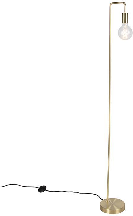 Moderná mosadzná podlahová lampa - Facil