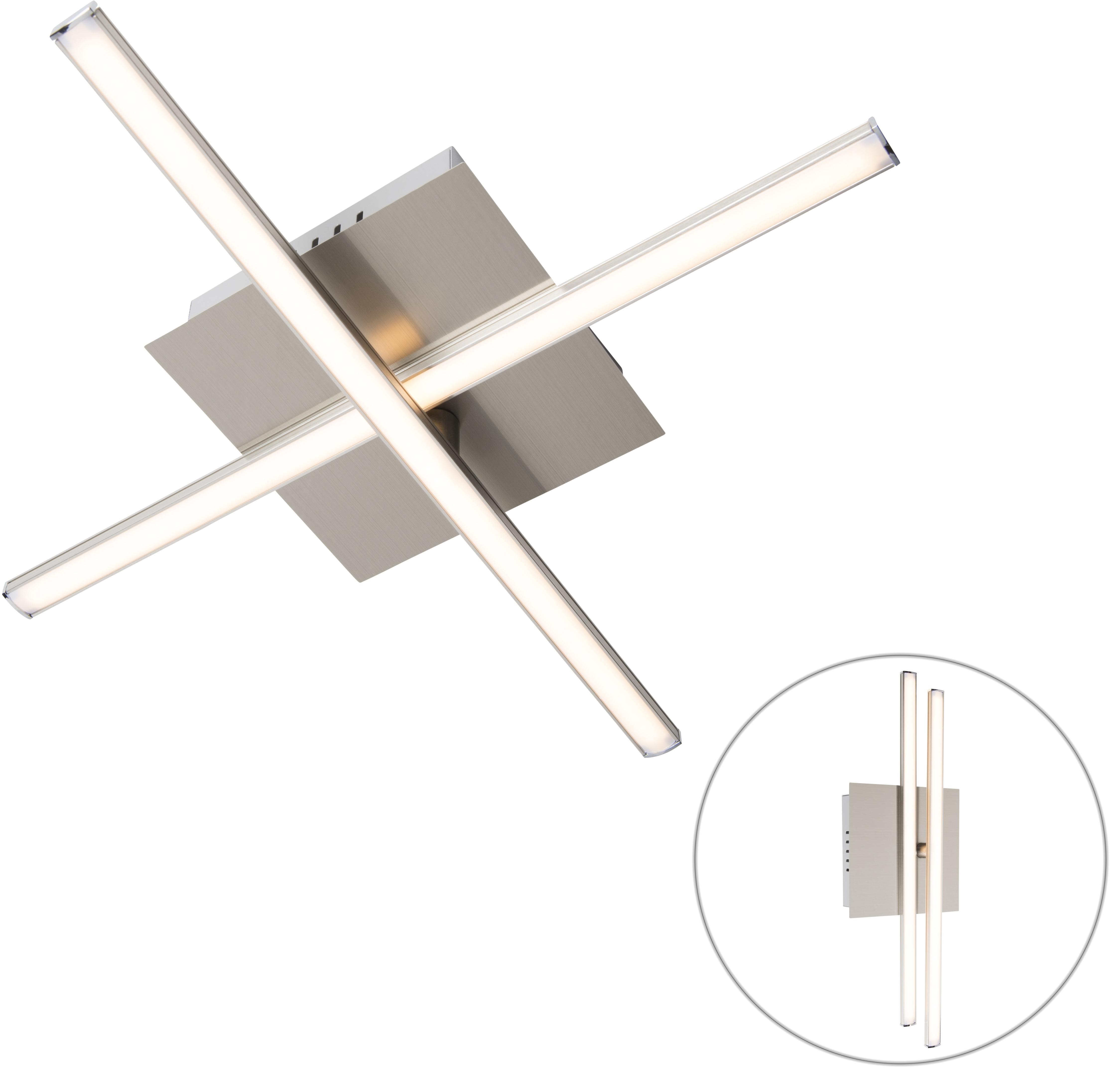 Moderné stropné svietidlo oceľové LED otočné - Cruz