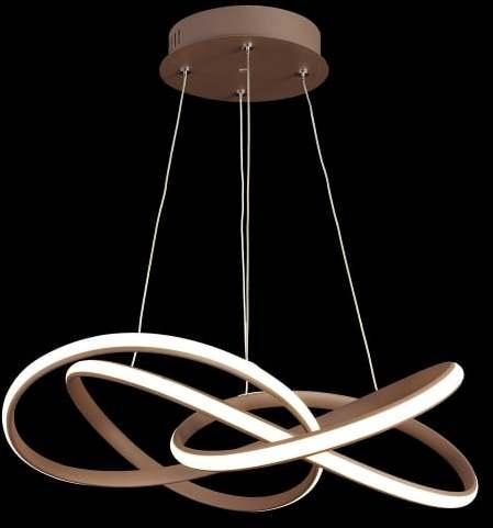 Moderné svietidlo LUXERA PASSO LED BROWN/WHITE 18202