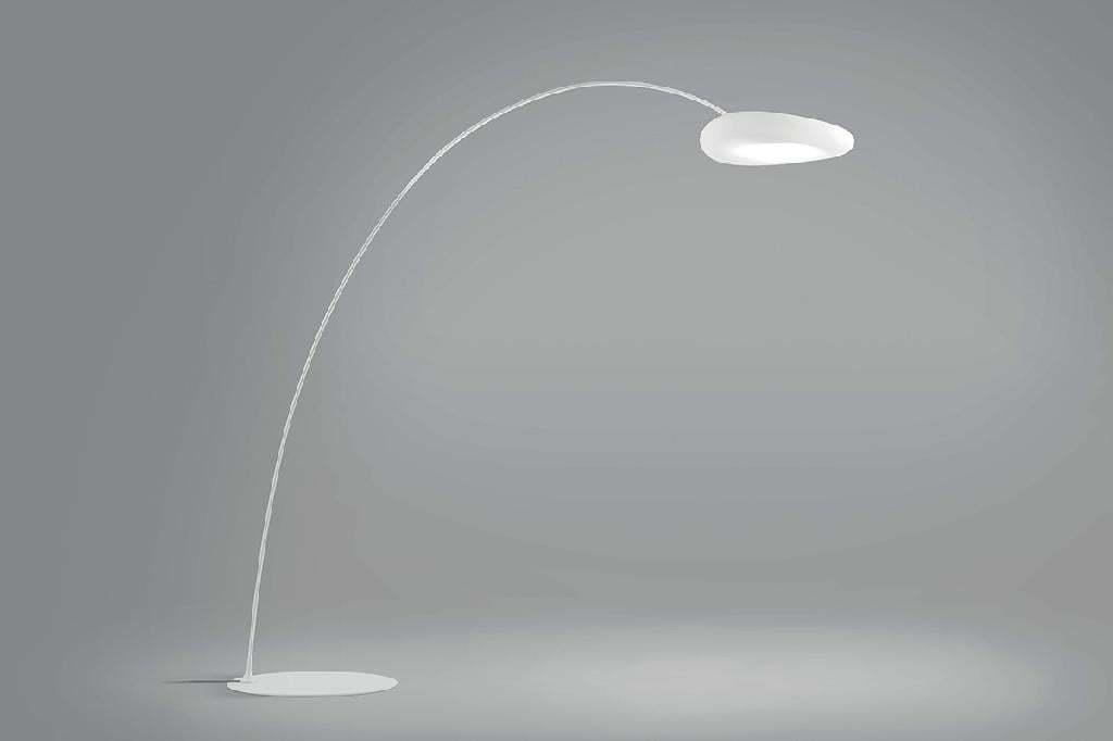Moderné svietidlo MADE Mr.Magoo FL biela LED 8009