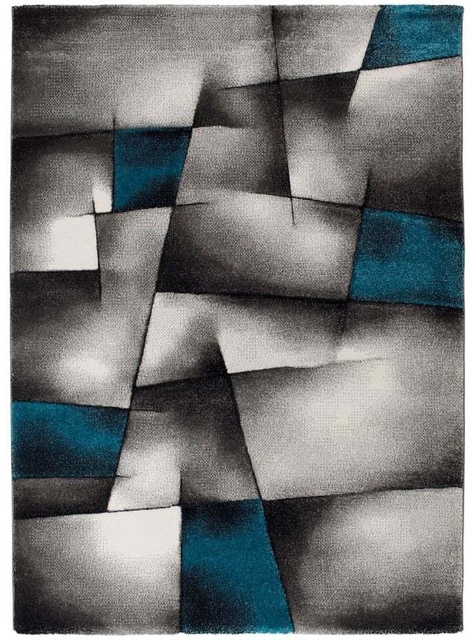 Modro-sivý koberec Universal Malmo, 120 × 170 cm