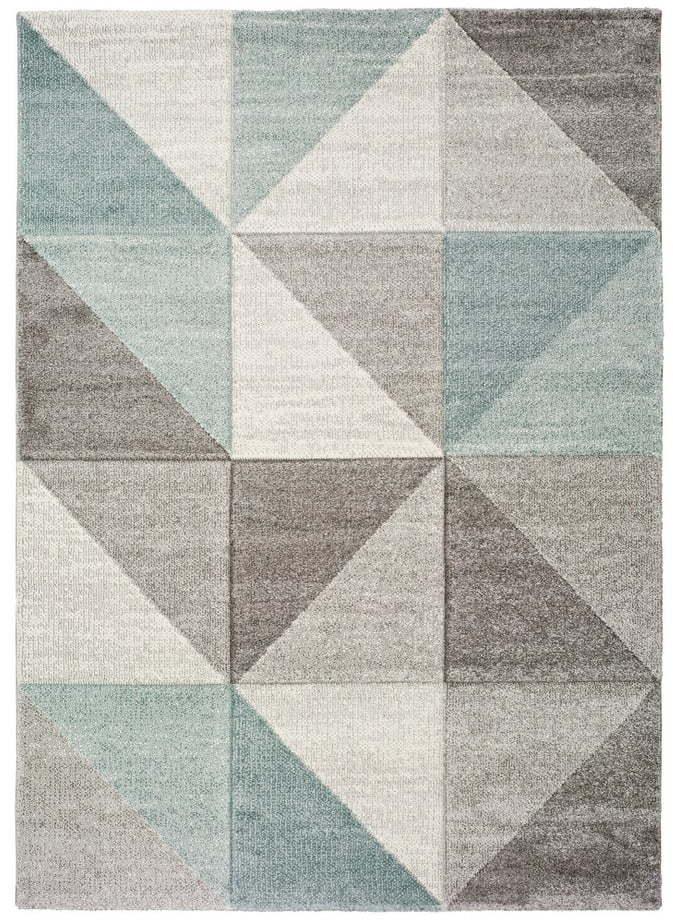 Modro-sivý koberec Universal Retudo Naia, 60 × 120 cm