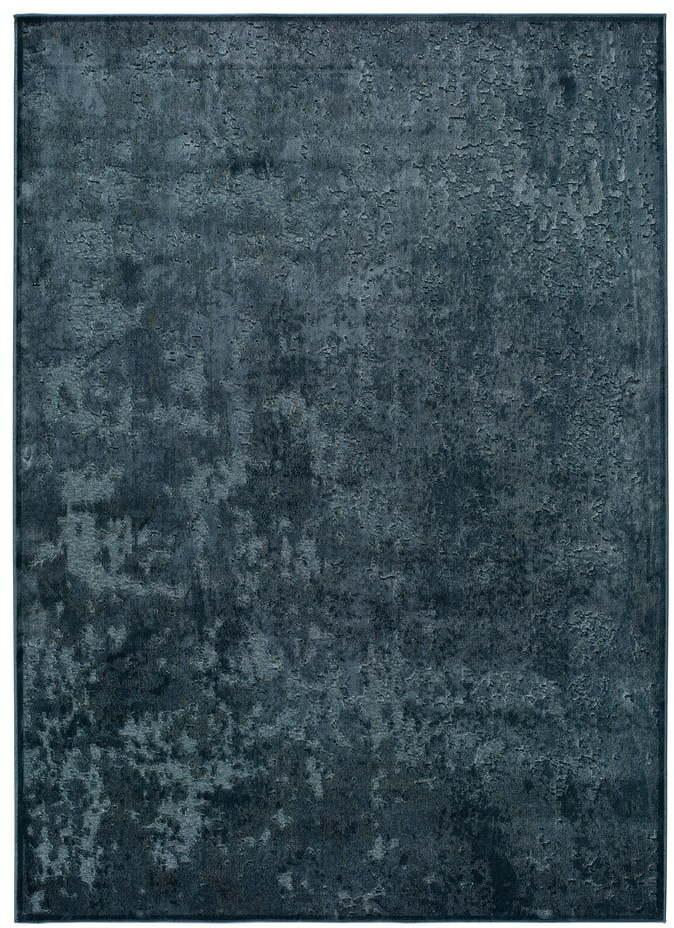 Modrý koberec z viskózy Universal Margot Azul, 60 x 110 cm