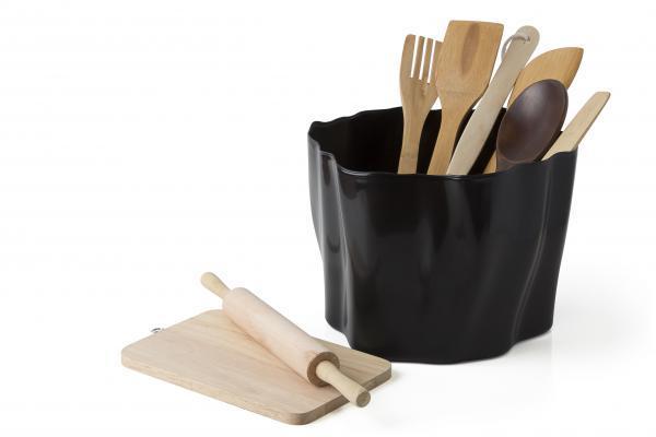 Multifunkčná nádoba Qualy Flow Bucket, čierna