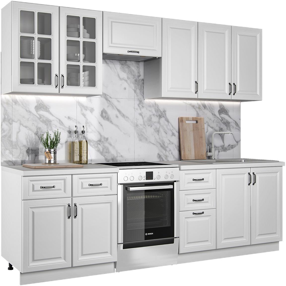 NABBI Montella 260 kuchyňa biela