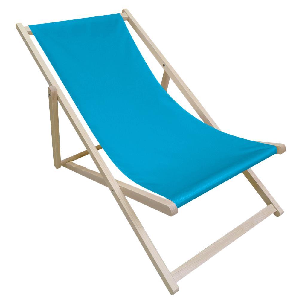 NABBI Zanzi plážové lehátko modrá