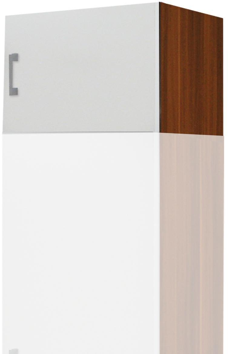 Nadstavec ESO 1-dverový 61515 orech/biela