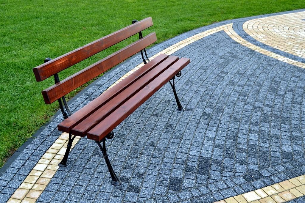 NaK Parková lavička Olga 180cm H4