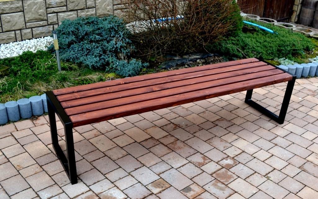 NaK Parková lavička Olívia 180cm H4