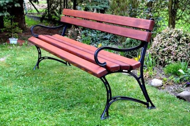 NaK Parková lavička Pola 150cm