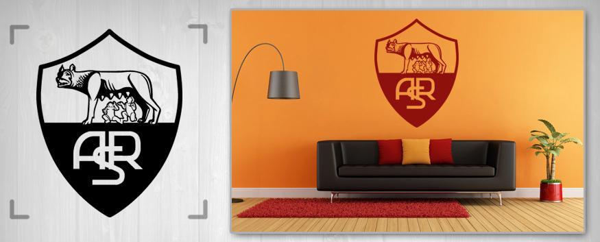 Nálepka na stenu Zľava 55 % LIGA MAJSTROV 100X100 cm NAF002/24h - bordová farba