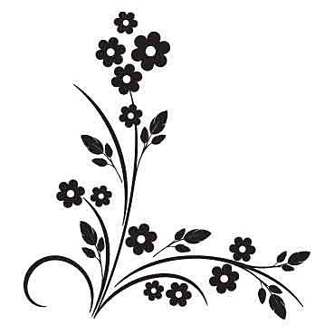 Nálepka Veľkonočné Kvety _j34