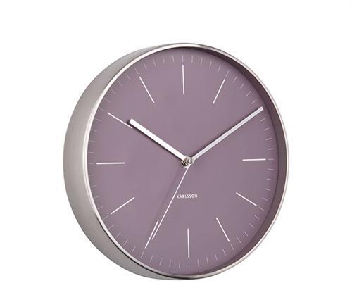 Nástenné hodiny 5732PU Karlsson Minimal, 28 cm