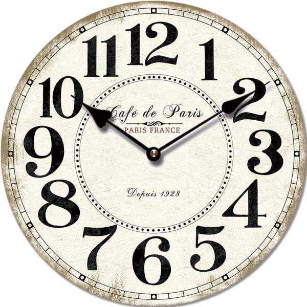 Nástenné hodiny Cafe de Paris, FAL6292 60cm