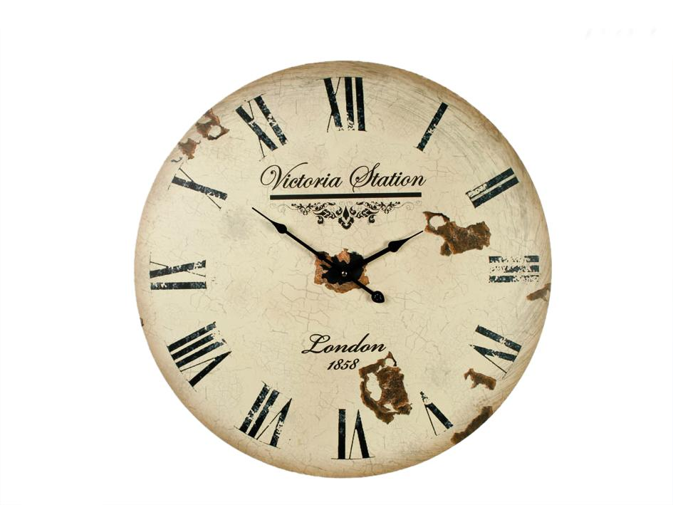 Nástenné hodiny Clock Victoria Station 1858, 60cm