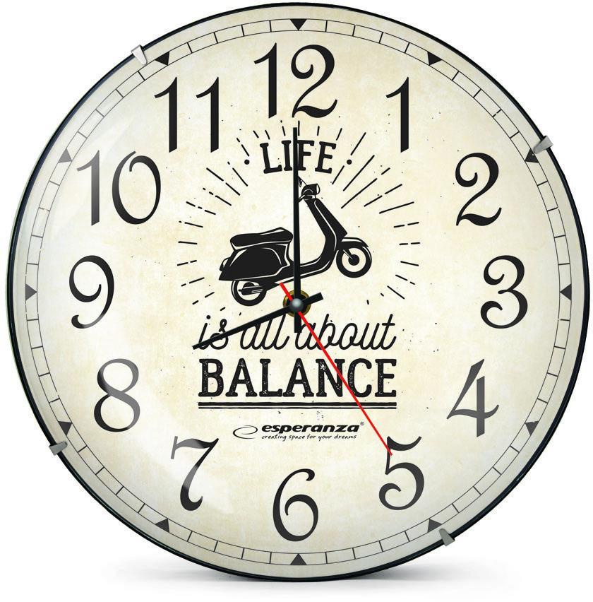 Nástenné hodiny ESPA SEA018S, 30cm