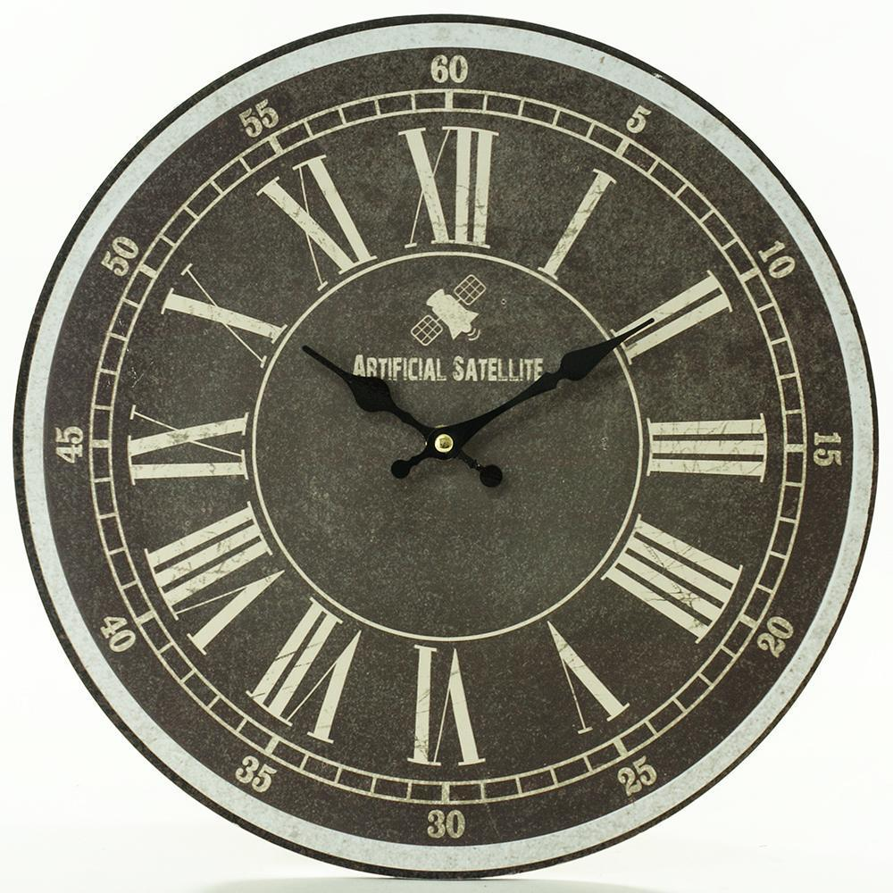 Nástenné hodiny, Flor0062, Satelite, 34cm