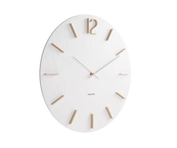 Nástenne hodiny Karlsson KA5697WH MEEK 50cm