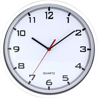 Nástenné hodiny MPM, 2478.00.A - biela, 26cm