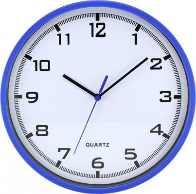 Nástenné hodiny MPM, 2478.30.A - modrá, 26cm