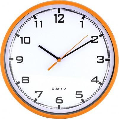 Nástenné hodiny MPM, 2478.60.A - oranžová, 26cm