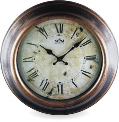 Nástenné hodiny MPM, 2503.50 - hnedá, 41cm