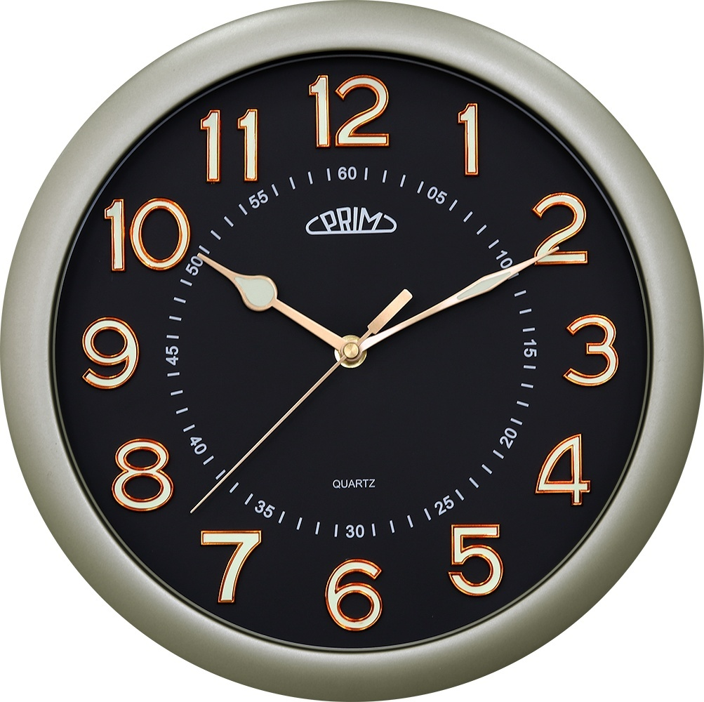 Nástenné hodiny PRIM 3701.8190 sweep, 31cm