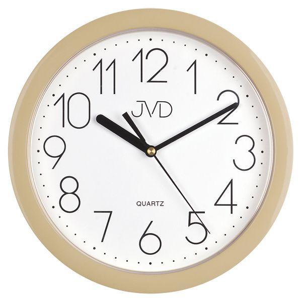 Nástenné hodiny quartz béžove Time 2.15 25cm