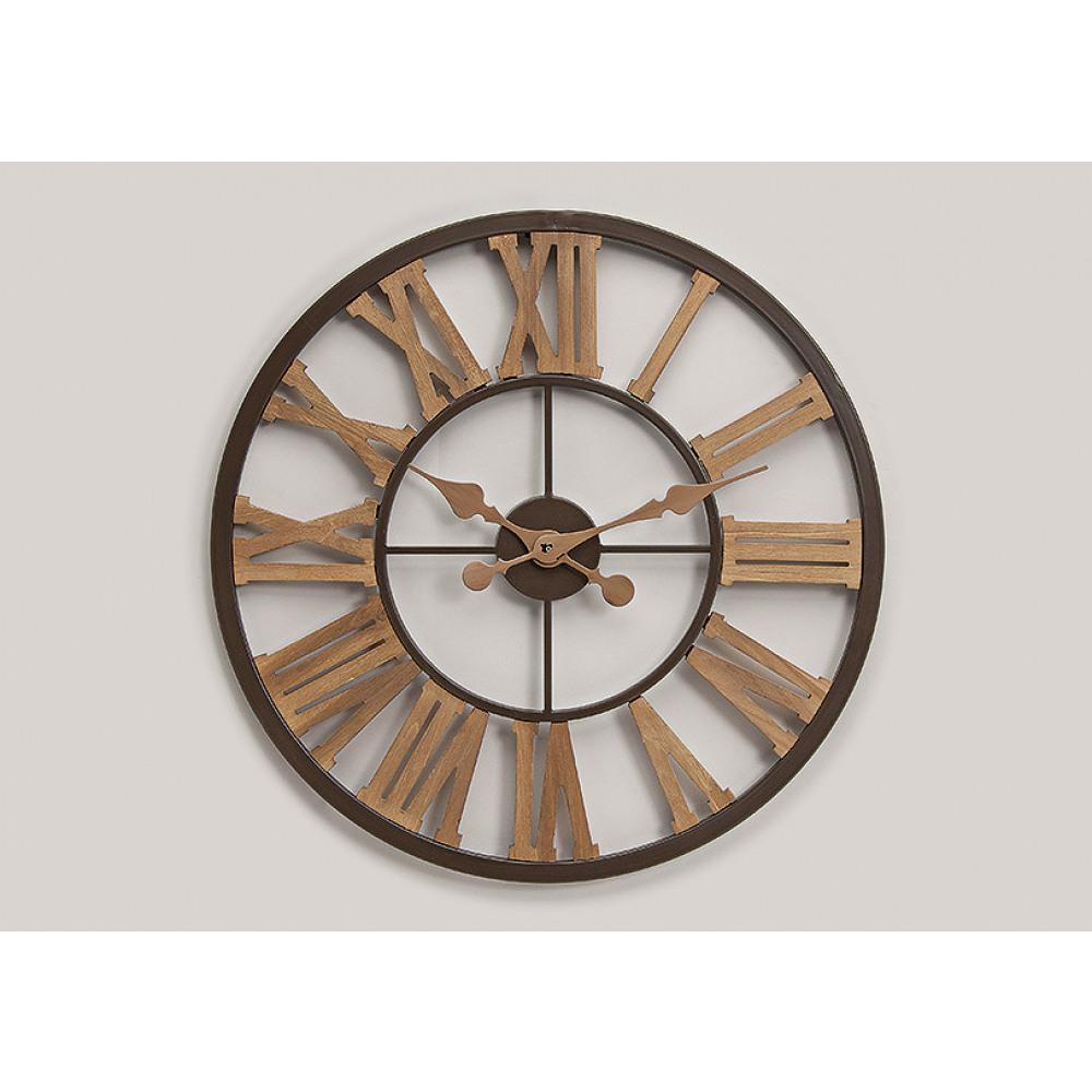 Nástenné hodiny Vintage, Roman numbers Wur3339, 60cm