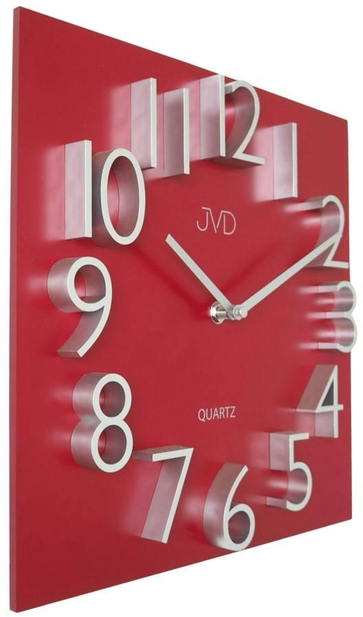 Nástenné hranaté hodiny JVD HB27, 30 cm