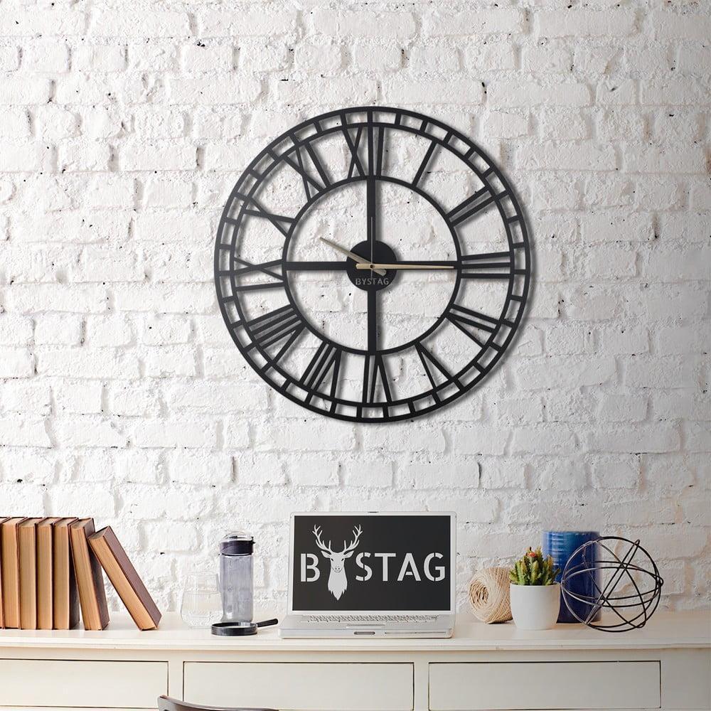 Nástenné kovové hodiny Greece, 70 × 70 cm