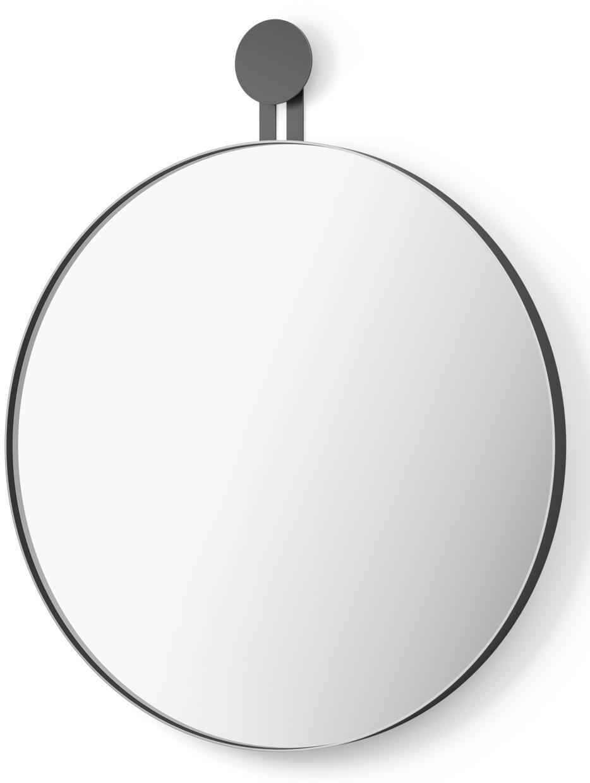 Nástěnné zrcadlo kulaté nerezove cerne Morma ZACK