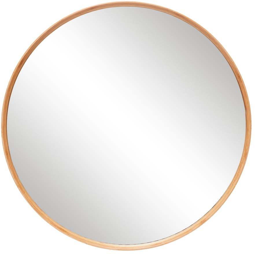 Nástenné zrkadlo Hübsch Frio, ø 80 cm