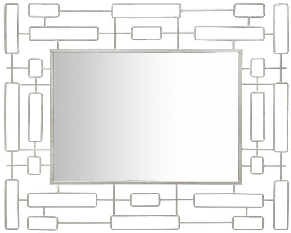 Nástenné zrkadlo Mauro Ferretti Mirror Ice, 80 x 100 cm