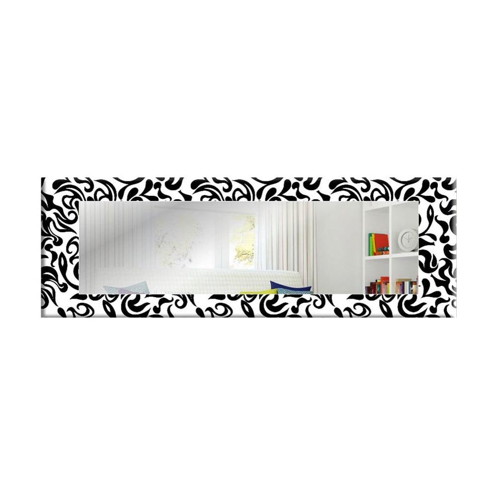 Nástenné zrkadlo Oyo Concept B&W, 120 x 40 cm