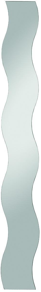 Nástenné zrkadlo Paul 20x150 cm, vlnitý tvar