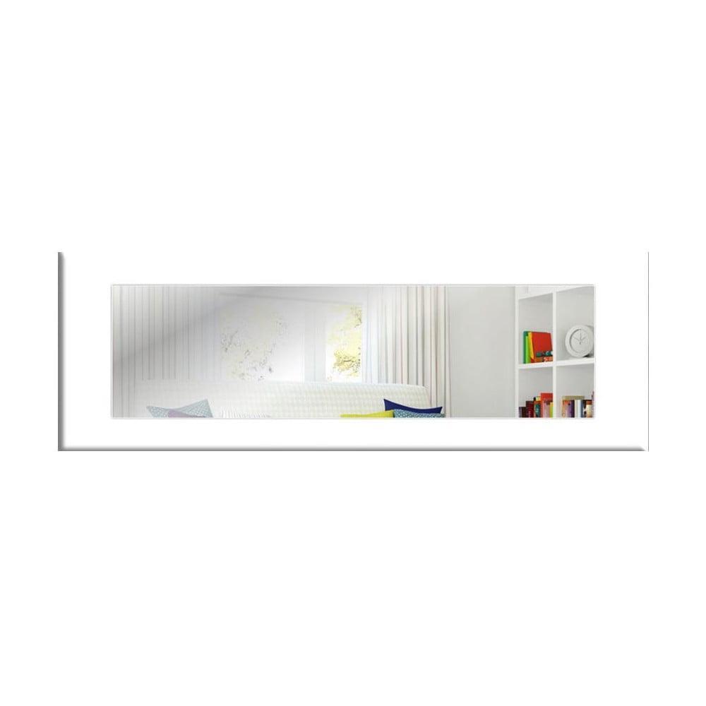 Nástenné zrkadlo s bielym rámom Oyo Concept Eve, 120 x 40 cm