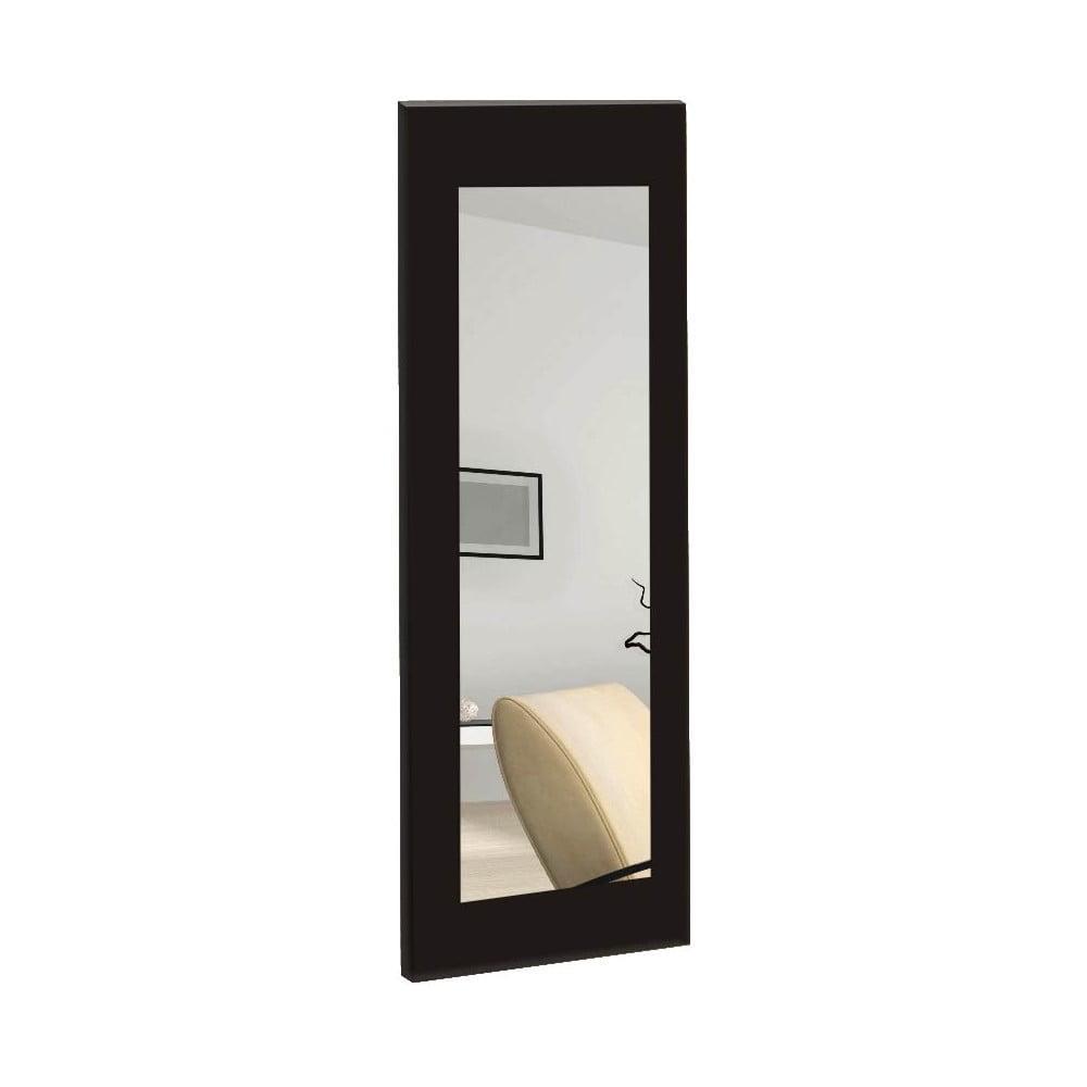 Nástenné zrkadlo s čiernym rámom Oyo Concept Chiva, 40 x 120 cm