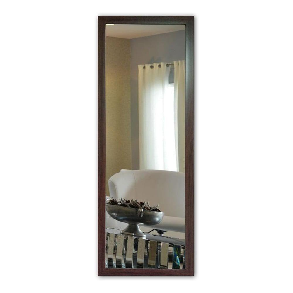 Nástenné zrkadlo s hnedým rámom Oyo Concept, 40 x 105 cm
