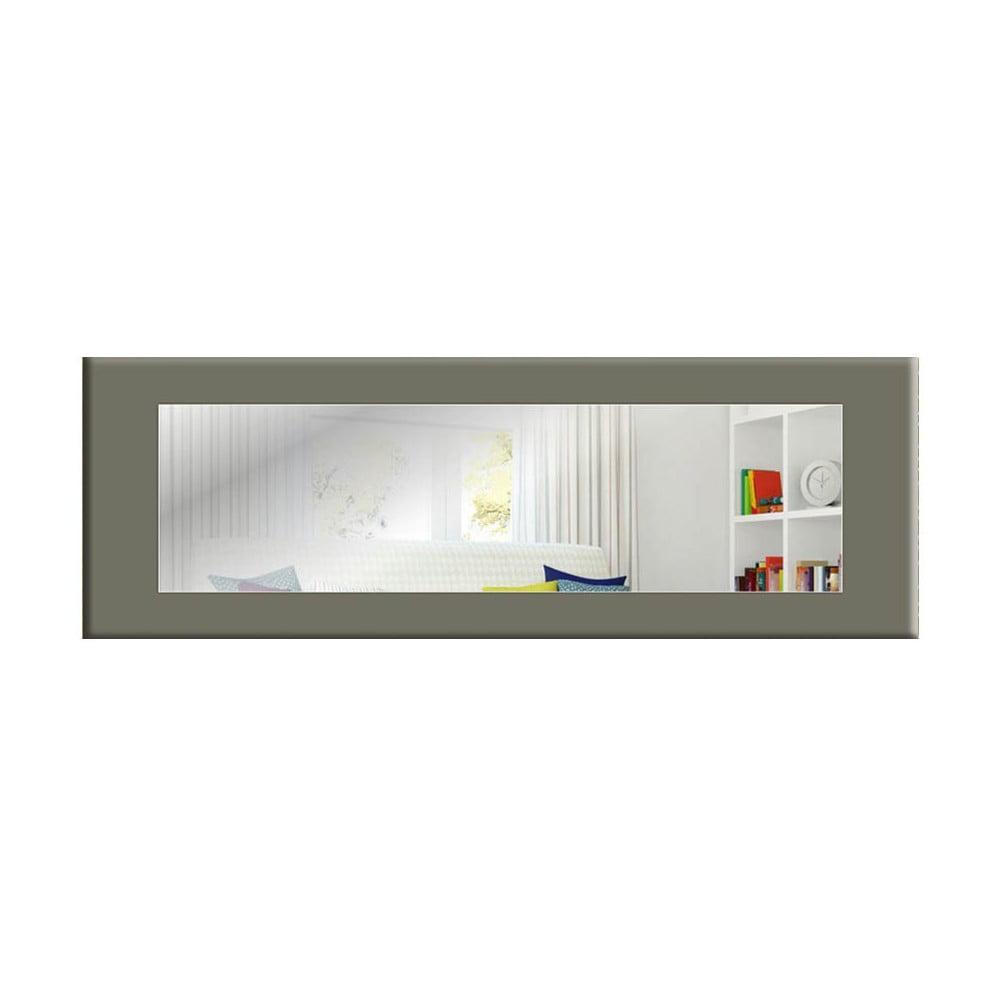 Nástenné zrkadlo so sivým rámom Oyo Concept Eve, 120 x 40 cm