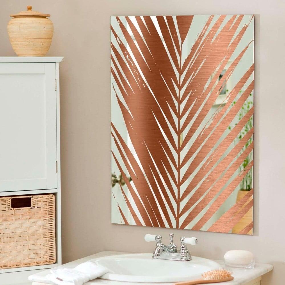 Nástenné zrkadlo Surdic Espejo Decorado Mauritia Copper, 50 × 70 cm